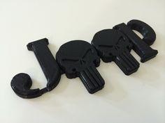 Punisher emblems for Jeeps www.cuzitscustom.com