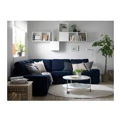 IKEA - VALJE, Veggskap med 2 dører, , Du kan lage din egen løsning ved å kombinere skap i ulike størrelser eller farger, med eller uten dører og…