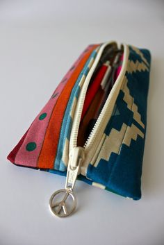 Charmed Pencil Pouch Tutorial and an Etsy Shop!
