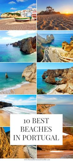 10 Best Beaches in Portugal - - It's home to miles of truly epic beach scenery, but which are the best beaches in Portugal? Here are 10 of the most beautiful coastal spots in the country. Best Beaches In Portugal, Places In Portugal, Spain And Portugal, Most Beautiful Beaches, Beautiful Places To Visit, Cool Places To Visit, Places To Go, Destin Beach, Beach Trip