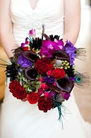 jewel tone flower bouquet - Google Search