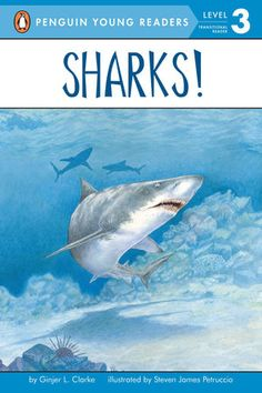 The very youngest readers can learn all about sharks-the fiercest of  the fish family-in this informative Level 1. The simple, clear text and striking pictures makes this a perfect first...