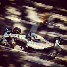 En Route to P2 w/Lewis Hamilton for the 2014 Monaco Formula One Grand Prix at Circuit de Monaco