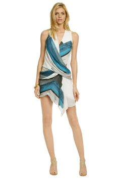 Helmut Lang - Blue Sea Tetra Dress Perfect to strut your stuff in this summer Helmut Lang, Winter Wardrobe, Dress To Impress, Style Me, Dress Up, Glamour, Summer Dresses, Boho, Stylish