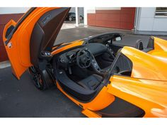 my bosses new car: mclaren car 2013 orange convertible - Google Search