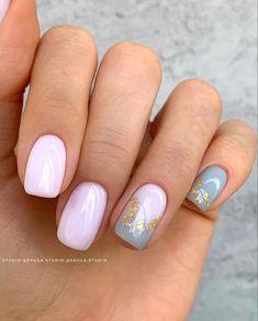 Chic Nails, Classy Nails, Stylish Nails, Simple Nails, Mint Nails, Mint Nail Art, Pink White Nails, Blue Nail, Nagellack Design