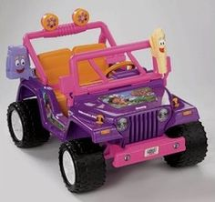 Dora Power Wheels Jeep Wrangler