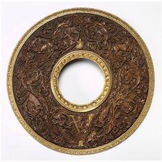 Mirror frame 16th century, Italian