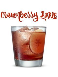 Crownberry Apple A Tasty Cocktail Made With Crown Royal Apple