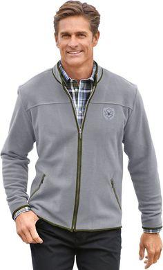 Classic Fleece-Jacke mit Stehkragen für 39,99€. Fleece-Jacke mit Taschen, Polyester, Reißverschluss bei OTTO