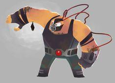 Uncle Bane by ~Andry-Shango on deviantART Bane, Comic Book Heroes, Comic Books, Dc Comics, Villain Costumes, Classic Comics, Joker And Harley, Geek Art, Character Design References