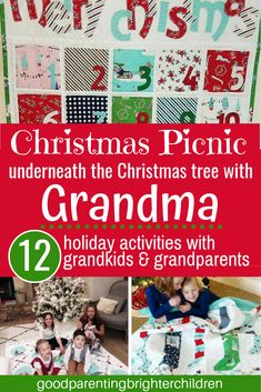 12 ideas & activities for grandparents to do with their grandkids at Christmas. Crafts, ideas, activities—everything that creates meaningful memories for grandparents and grandchildren at Christmas. Christmas Traditions Kids, Christmas Activities For Families, Christmas Gift Decorations, Art Activities For Kids, Easter Activities, Christmas Books, Holiday Activities, A Christmas Story, Family Traditions