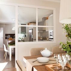 Un interior reconfortante - Sonia Saelens déco - Calculating Infinity Dining Room Design, Kitchen Design, Dream Decor, Home Fashion, Kitchen Living, Kitchen Interior, Style At Home, Sweet Home, New Homes