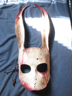 Leather Bioshock Splicer Bunny Mask By by Masqueradesnbonesaws, $80.00