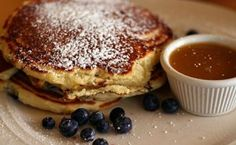 February means Pancake Month at Clinton Street Baking Company in New York City.