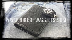 """""""Sniper"""" 5"""" Shark Custom Men's Handmade Biker Wallet"""