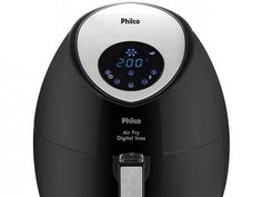 Fritadeira Elétrica Air Fryer/Sem Óleo Philco - Digital Inox 3,2L Timer com as melhores condições você encontra no Magazine Jdamasio. Confira!