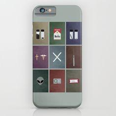 X-Files+colors+iPhone+&+iPod+Case+by+Justin+Cybulski+-+$35.00