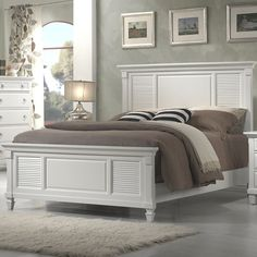 Simmons Casegoods Cape Cod Panel Bed By Breakwater Bay King