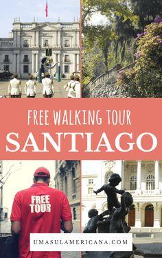 Free Tour Santiago - Um passeio guiado gratuitamente pelo Centro de Santiago