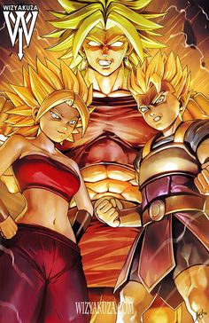 Caulifla Kale and Kyabe - More at https://pinterest.com/supergirlsart #cabba #dragon #ball #super #dbs #universe #6 #u6 #anime #fanart