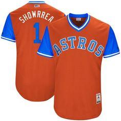 3a5197eee Carlos Correa  Showrrea  Houston Astros Majestic 2017 Players Weekend  Authentic Jersey - Orange