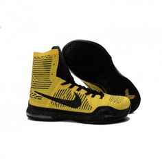 sports shoes 69097 5f379 The cheap Authentic Nike Kobe X Elite  Opening Night  Tour Yellow Volt Black  Shoes factory store are awesome pair of shoes but it seems the super high  top ...