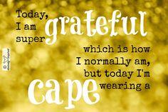 grateful cape