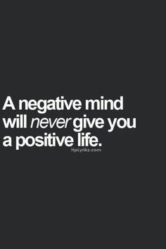 Illuminate your negative thoughts