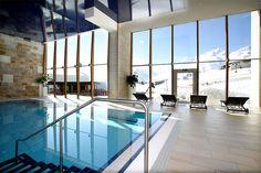 Hallenbad im Wellnessbereich Hotel Edelweiss, Hotels, Outdoor Decor, Room, Furniture, Home Decor, Bedroom, Decoration Home, Room Decor