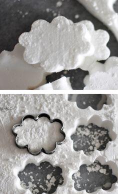 Puffy Cloud Marshmallows - yum!