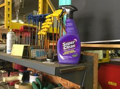 That Purple Stuff in Your Garage- New Blog Post