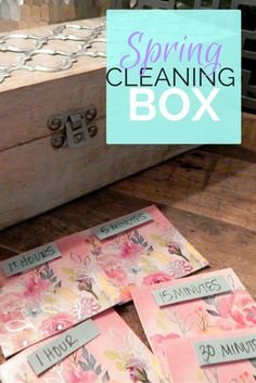 Spring Cleaning Box - P