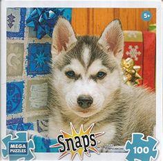 Snaps Husky Puppy Dog 100 Piece Rompecabezas Puzzle, http://www.amazon.com/dp/B01M9HK0Q0/ref=cm_sw_r_pi_awdm_x_6dMhybXZRMG82