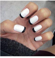 White black ends