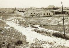 Construcción de chalets en los años 40 del siglo pasado, Playa San Juan