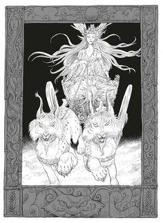 Odd and the Frost Giants: Amazon.co.uk: Neil Gaiman, Chris Riddell: 9781408870600: Books