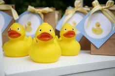 A little Polkadot: Blue & Yellow Ducky 1st Birthday