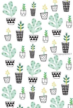 Surface Pattern Design - Sally Payne Line Illustration, Watercolor Illustration, Sewing Art, Cactus Y Suculentas, Cactus Print, Watercolor Pattern, Textile Patterns, Textiles, Surface Pattern Design
