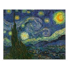 Starry Night - Vincent Van Gogh