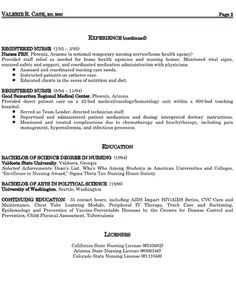 cv template part time job