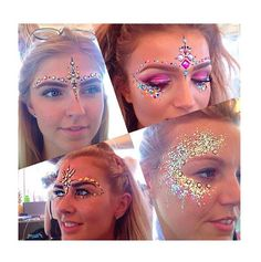 Glitter and bindis from Its In Your Dreams