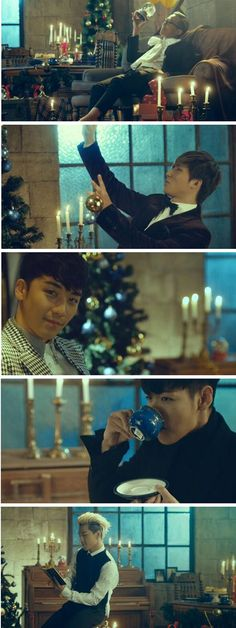 TOP, G-Dragon ,Daesung ,Seungri , and Taeyang ♡ #BIGBANG // Gmarket 'Christmas Wish List' CFs