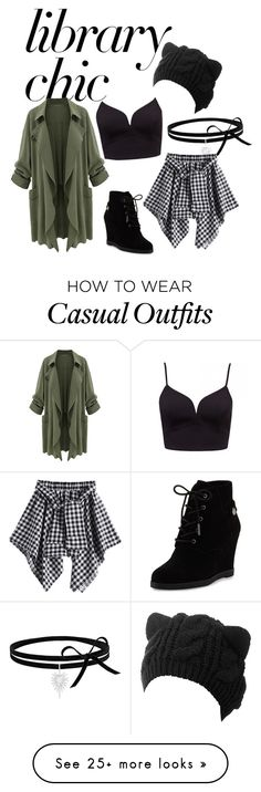"""""""Library Kitty Casual"""" by witchy-otherkin on Polyvore featuring MICHAEL Michael Kors"""