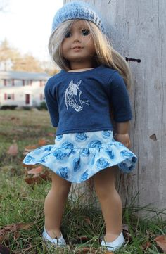 18 inch Dolls Clothes will fit American Girl by AbygailElizabeth