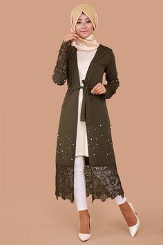 İnci Detay İkili Tunik Takım Haki Ürün kodu: BNM2114 --> 79.90 TL