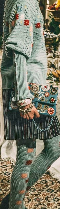 Chanel ♥✤Pre-Fall 2015 Backstage Details