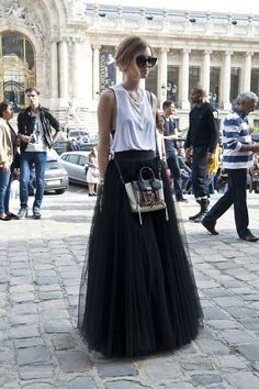 Chiara Ferragni Street Style PFW