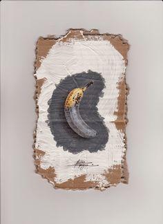 Massimo Capogna - Artist: Pastelli acquerellabili su cartone intonacato  co...