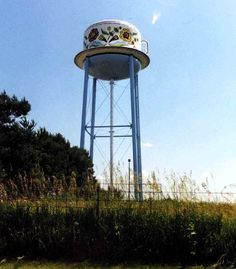 Cup & Saucer Water Tower